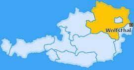 Karte von Wolfsthal