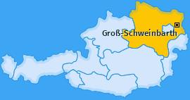 Karte von Groß-Schweinbarth