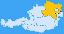 Karte von Lassee