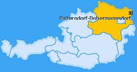Karte von Palterndorf-Dobermannsdorf