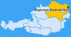 Karte von Ringelsdorf-Niederabsdorf