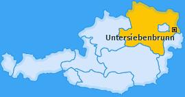Karte von Untersiebenbrunn