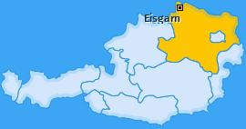 Karte von Eisgarn