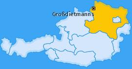 Karte von Großdietmanns