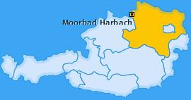 Karte von Moorbad Harbach