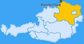 Karte von Haugschlag