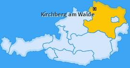 Karte von Kirchberg am Walde