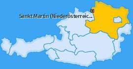Karte von Sankt Martin (Niederösterreich)