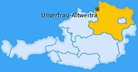 Karte von Unserfrau-Altweitra