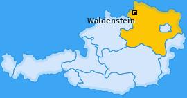 Karte von Waldenstein