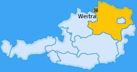 Karte von Weitra