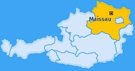 Karte von Maissau