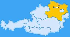 Karte von Retz