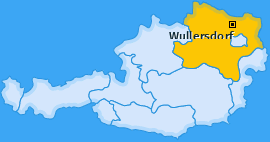 Karte von Wullersdorf