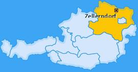 Karte von Zellerndorf