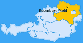 Karte von Rosenburg-Mold