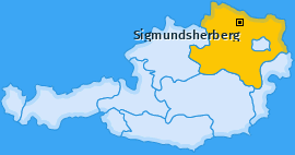 Karte von Sigmundsherberg