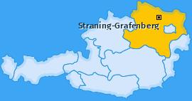Karte von Straning-Grafenberg