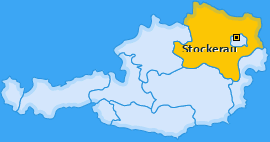 Karte von Stockerau