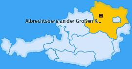 Karte von Albrechtsberg an der Großen Krems