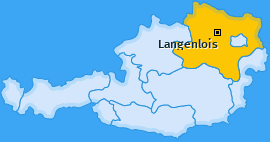 Karte von Langenlois