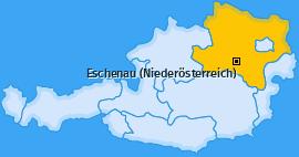 Karte von Eschenau (Niederösterreich)