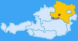Karte von Mank