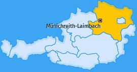 Karte von Münichreith-Laimbach