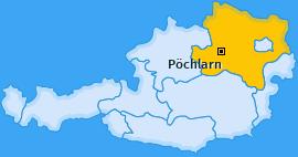Karte von Pöchlarn