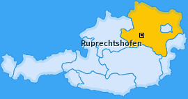 Karte von Ruprechtshofen