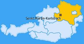 Karte von Sankt Martin-Karlsbach