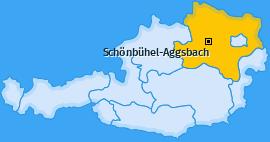 Karte von Schönbühel-Aggsbach