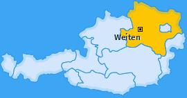 Karte von Weiten