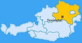 Karte von Texingtal