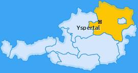Karte von Yspertal