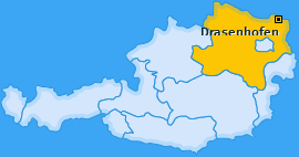 Karte von Drasenhofen