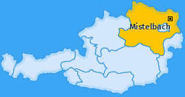 Karte Hörersdorf Mistelbach