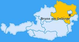 Karte von Brunn am Gebirge