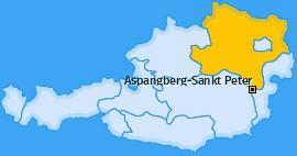 Karte von Aspangberg-Sankt Peter