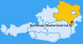 Karte von Breitenau (Niederösterreich)