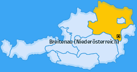 Karte von Breitenau (Niederösterreich)
