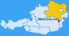 Karte von Mönichkirchen