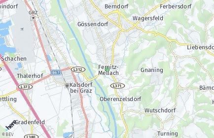 Stadtplan Fernitz-Mellach