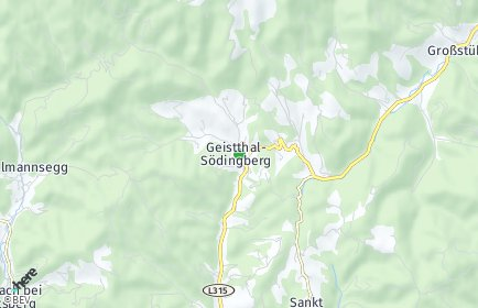 Stadtplan Geistthal-Södingberg