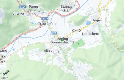 Stadtplan Irdning-Donnersbachtal