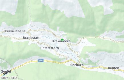 Stadtplan Krakau