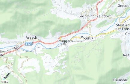 Stadtplan Michaelerberg-Pruggern OT Michaelerberg