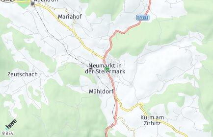Stadtplan Neumarkt in der Steiermark