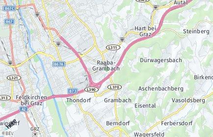 Stadtplan Raaba-Grambach