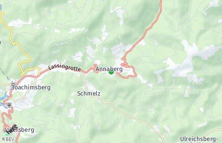 Stadtplan Annaberg (Niederösterreich)